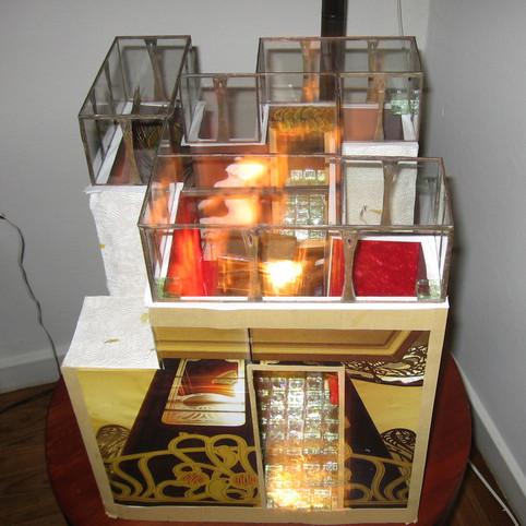 Art Nouveau Lightbox