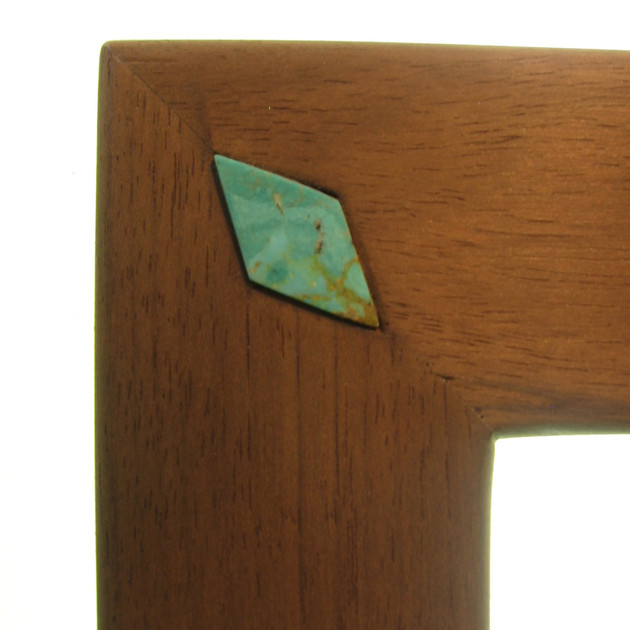 Turquoise Inlay Detail on Nymph