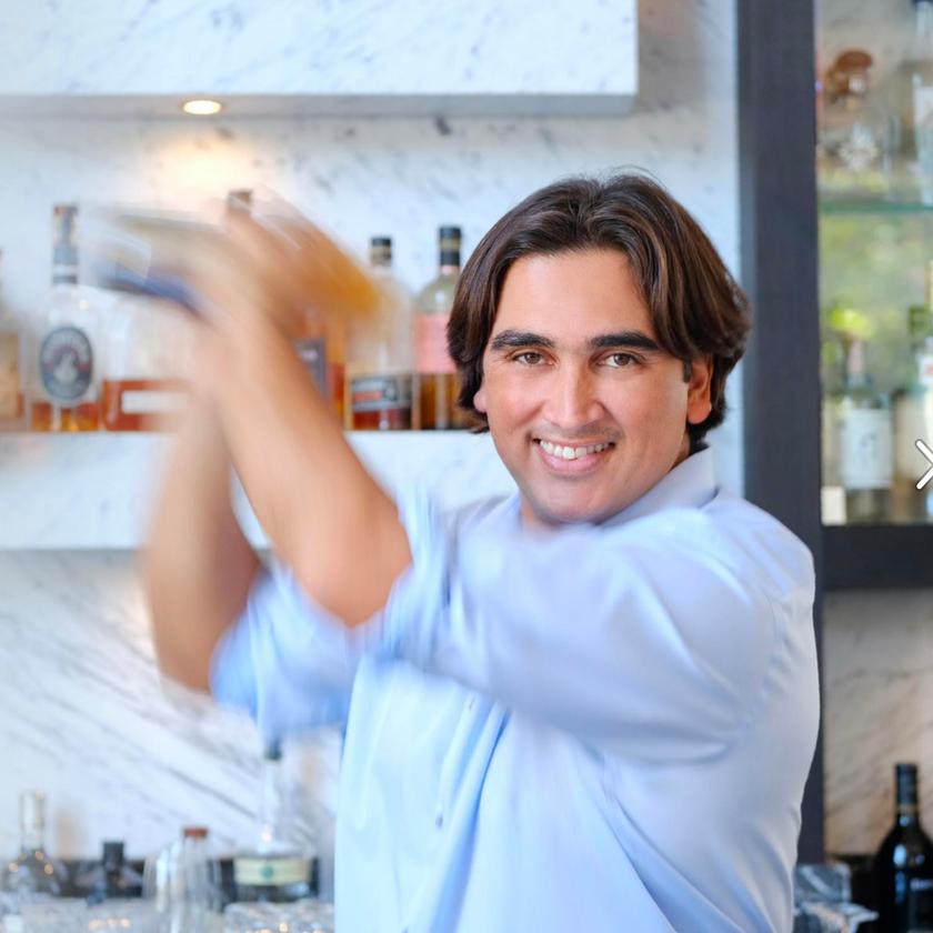 Seventh & Dolores Steakhouse Mixologist Carlos Colomido