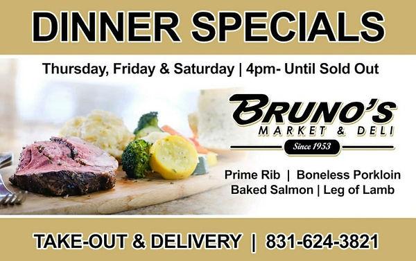 Bruno's Market Luch Specials Ad