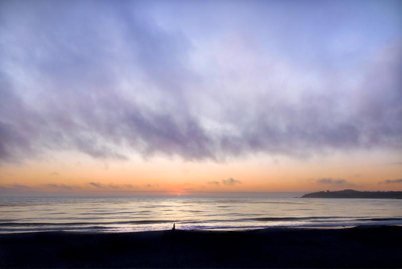 CVarmel beach Sunset by Manny Espinoza P