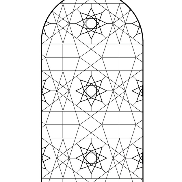 Cartoon for Islamic Star Panel