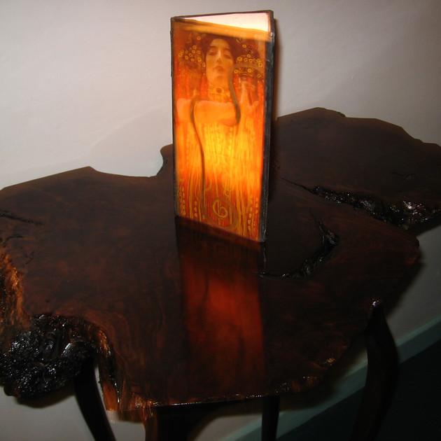 Klimt Wedding Candle Holder