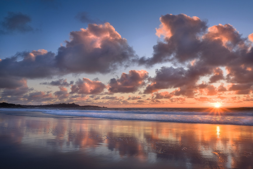 Carmel Sunset Reflection by Manny Espino