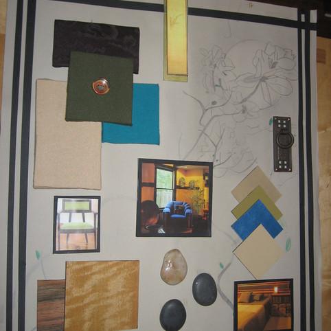 Concept Board, Soho Loft