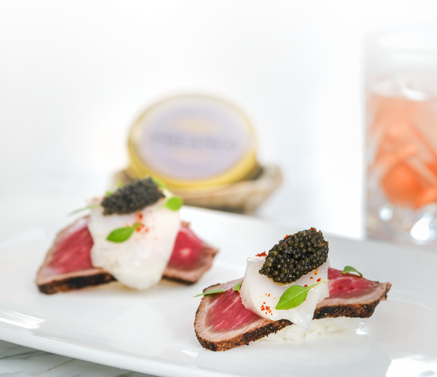 7D Tuna & Caviar Food by Manny Espinoza Photography
