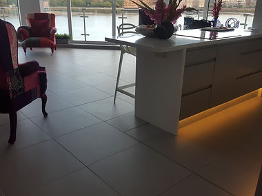 Mosa tiles to apartment floor