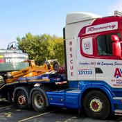 Big T on the Low loader