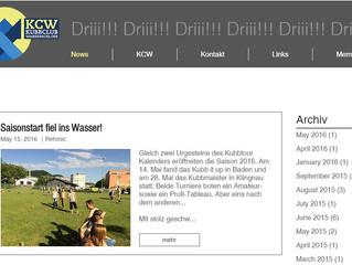 Neue KCW-Seite online!