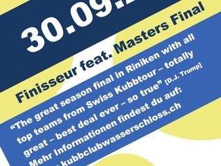 Anmeldung für Finisseur & Masters Final 2017 online!!
