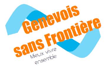 L'association Genevois sans frontière renonce à toute étiquette partisane pour renforcer son action