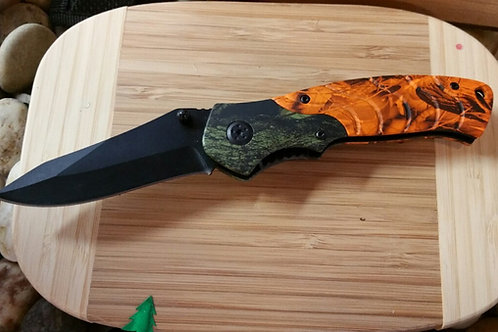 Blaze 2-Tone Camo Knife 17393