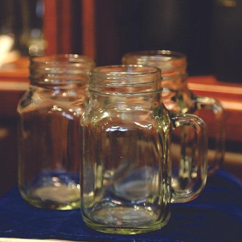Glass Jar Mug