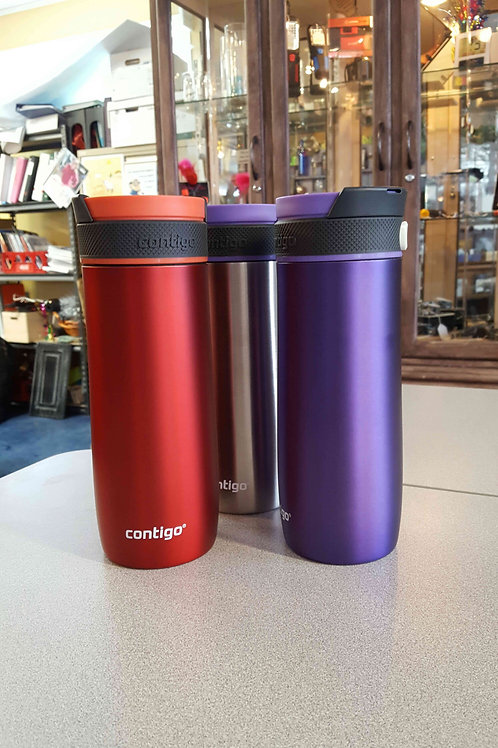 Colored Contigo Travel Mugs