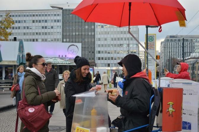 bratwurst in Berlijn