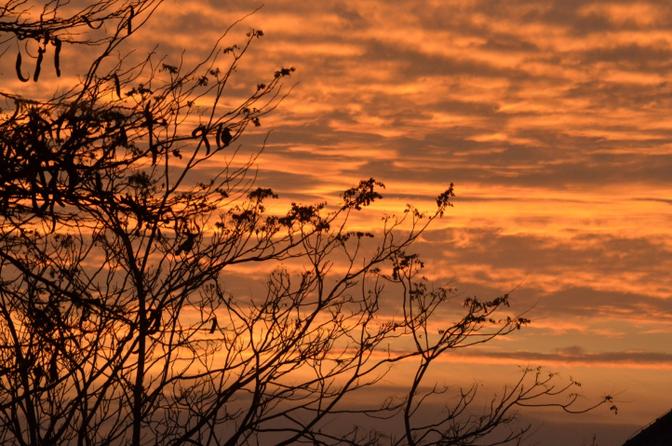 Mooie zonsondergang 2