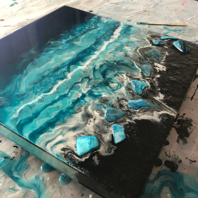 Resin Costal Artwork