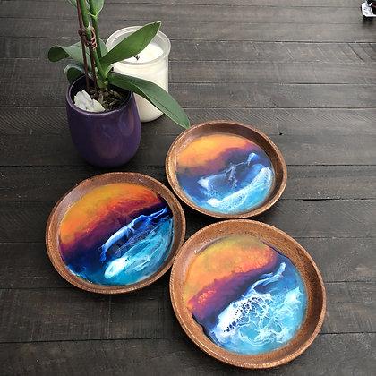 SUNSET OCEAN TRINKET TRAY