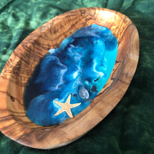 home decor olive wood bowl
