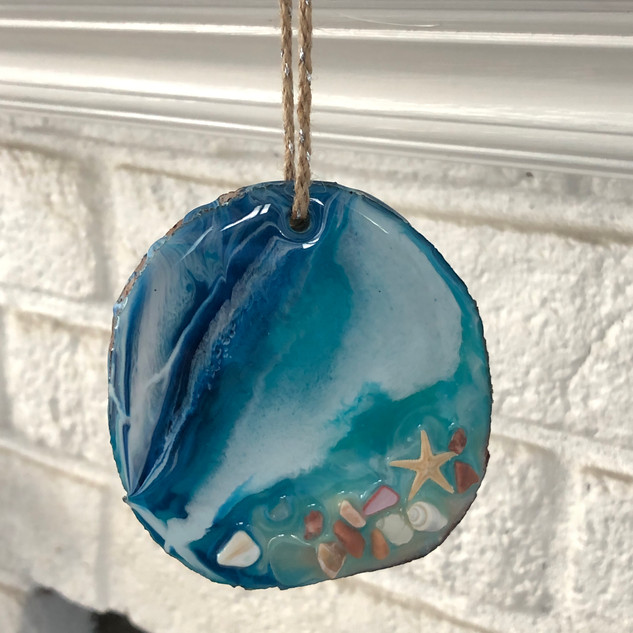 Beach theme ornaments