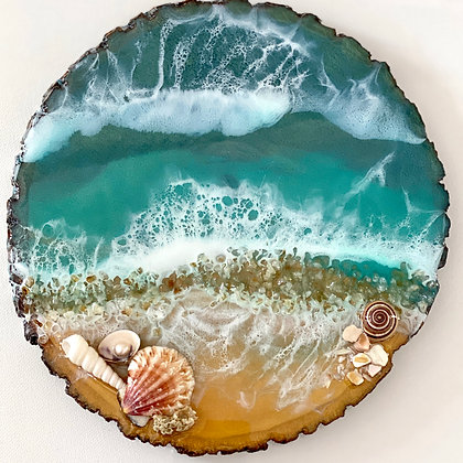 OCEAN WALL PLAQUE