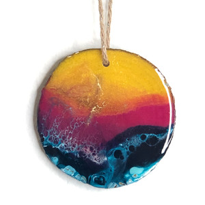 beautiful hand painted ornaments for your Christmas tree
