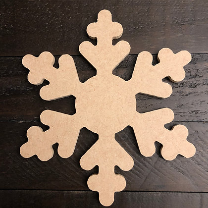 CUSTOM BEACH SNOWFLAKE ORNAMENT