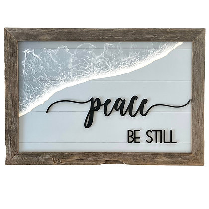 PEACE-BE STILL SIGN