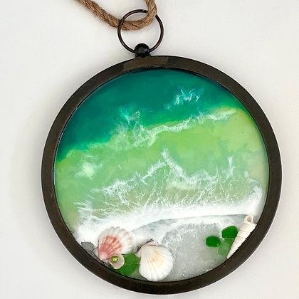 RUSTIC OCEAN PORTHOLE