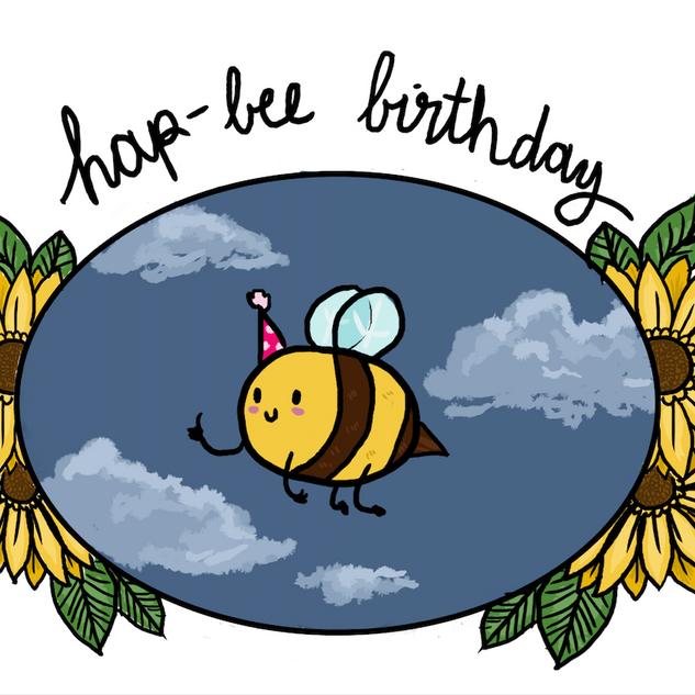 Hap-bee Birthday!