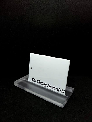 Solid White cast acrylic (#405)