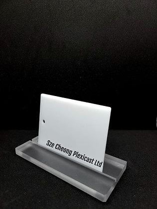 Opal white cast acrylic (#4318)