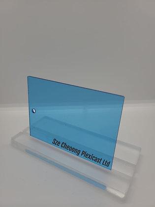 Transparent Blue (300), 2.5mm thick