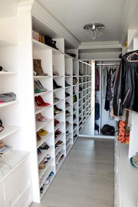 Closets y walk in closets