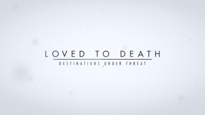 """TITLE DESIGN """"LOVED TO DEATH"""""""