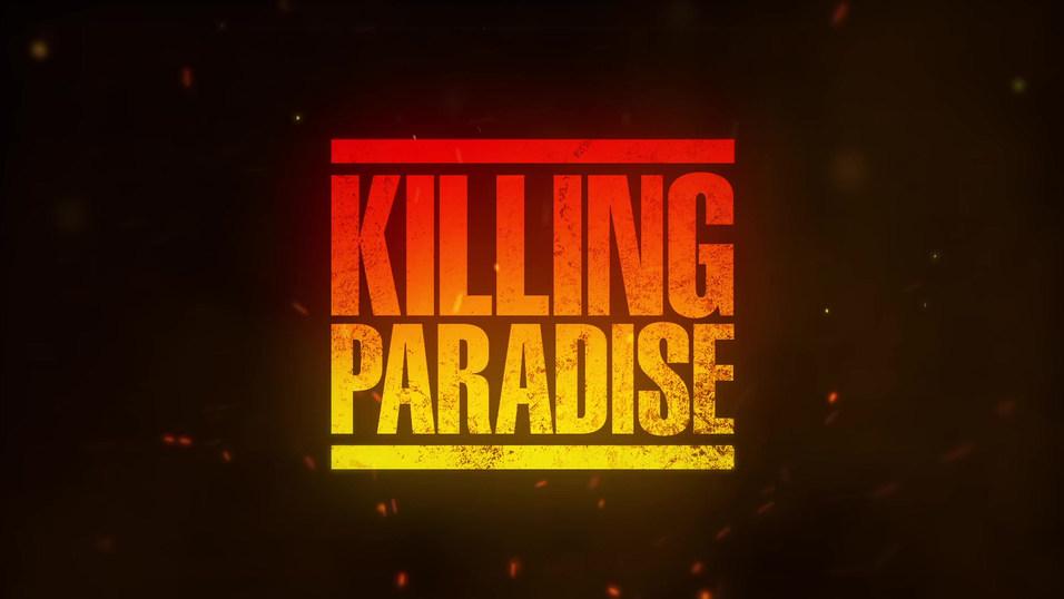 """TV SERIES TITLE DESIGN """"KILLING PARADISE"""""""