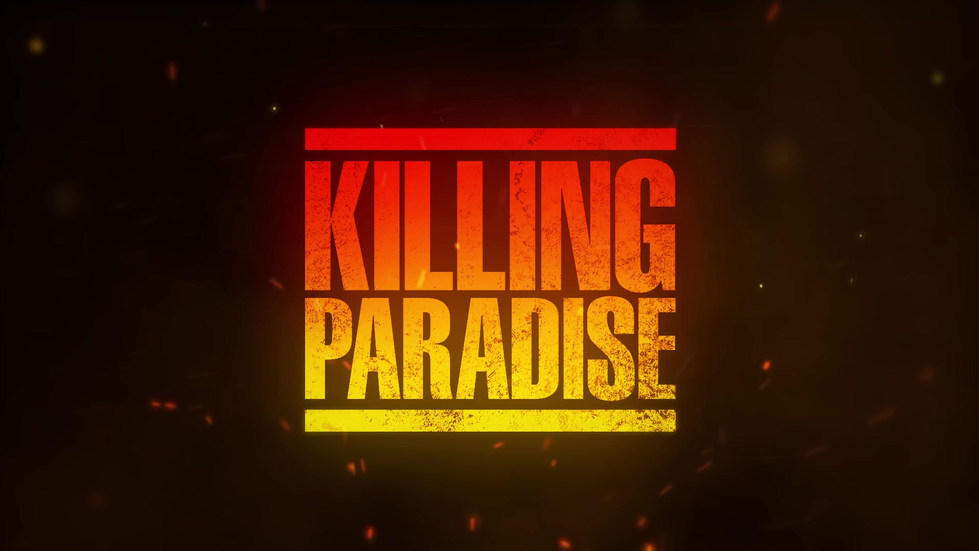 "TV SERIES TITLE DESIGN ""KILLING PARADISE"""