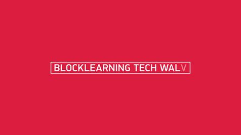 "TITLE DESIGN ""BLOCKLEARNING TECH WALK"""