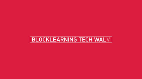 "TITLE DESIGN ""BLOCKLEARNING TECH WALK"""