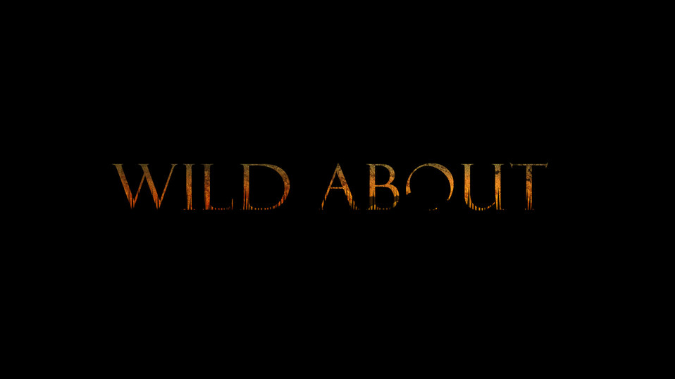 """TV SERIES TITLE DESIGN """"WILD ABOUT"""""""