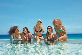 Girlfriends at Altitude rooftop pool.jpg