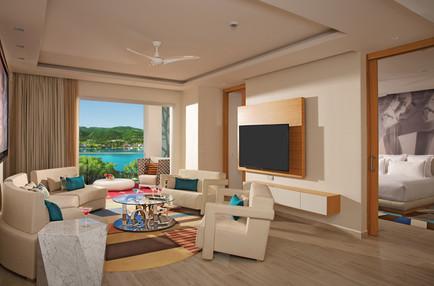 Xhale Club Master Suite Ocean View, livi