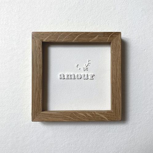 """Passagère """"Amour"""" sérif"""