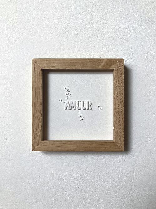 """Passagère """"Amour"""" sans sérif 2"""