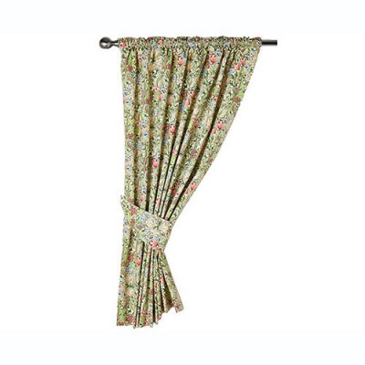 Morris Gallery Golden Lily Lined & Unlined Curtains