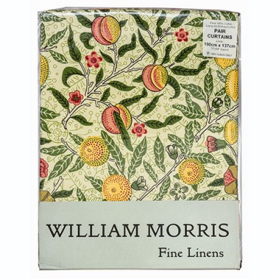 Morris Gallery Fruits Lined & Unlined Curtains