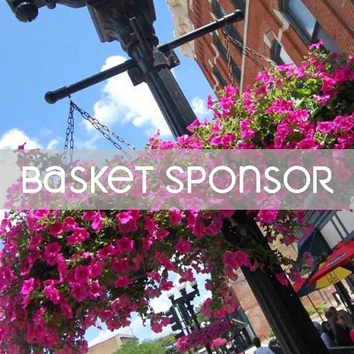 Basket Sponsorship - Flowers