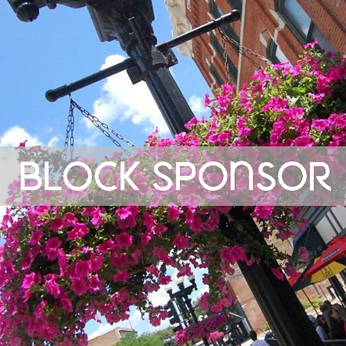 Block Sponsorship - Flowers