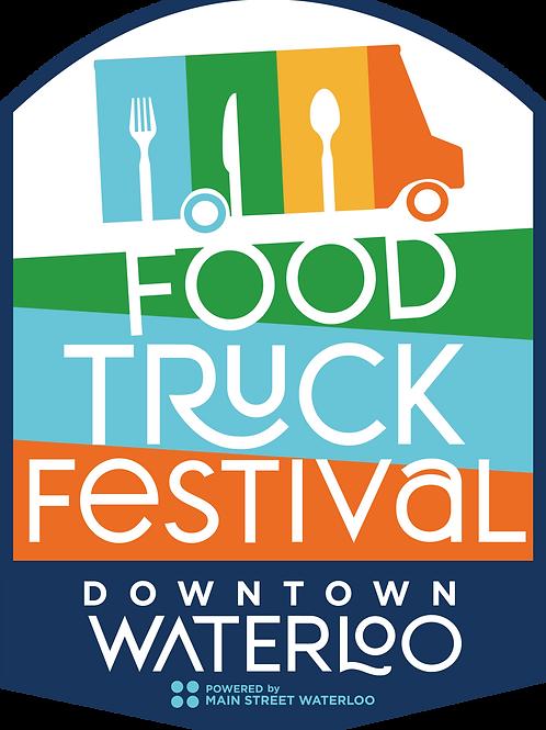 Food Truck Festival Foodie Sponsor