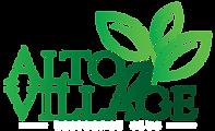 logotipo_alto_village_fundo_escuro_escri